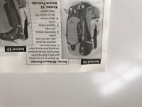 Kestrel 38 Osprey BackPack M/L Green - Never Used - Fully Featured Top of the Range