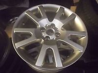 "MGF MGTF 16"" VEE V SPOKE ALLOY WHEELS NEW OLD STOCK SILVER OR BLACK"