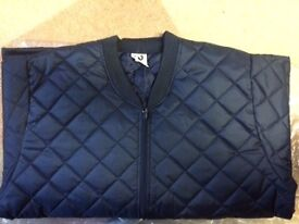 Quilted Thermal Liner - size large with two external pockets