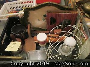 Vintage and Antique Kitchen Items and Glass