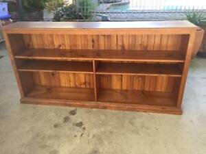 TIMBER BOOKCASE - TEAK Elanora Heights Pittwater Area Preview