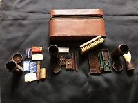 Vintage Bakelite 1930s Gentlemans Travel Grooming Set