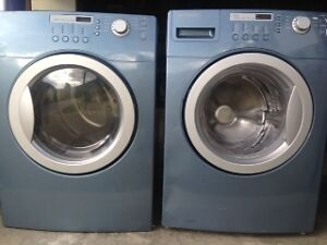 Front-Load Stackable/Side-by Side Washer/Dryer
