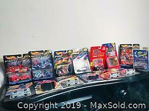 Vintage MOC Diecast Collection