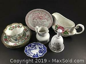 Assorted English China
