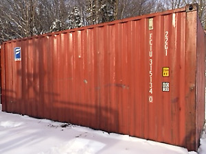 20' Standard Used Shipping Container - Monthly Payment Plan NS