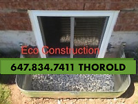 ENLARGE SMALL BASEMENT WINDOW to CUSTOM SIZE EGRESS -30 yrs exp