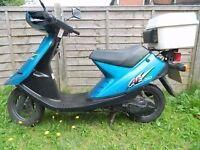 Suzuki AE50 scooter 50cc 12mths mot