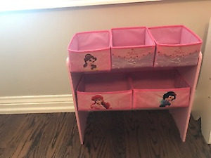 Girls pink/white organizer