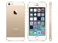 iPhone 5S Gold mint condition unlock