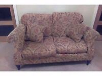 Lovely shabby chic style sofa. Good quality 2 seater sofa