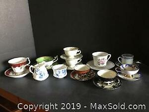 Tea Cups and Saucers (A)