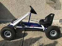 Kids Pedal Go Kart, Suit 4/5year old+.