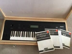 Korg Wavestation EX Vector Synth w/Manuals