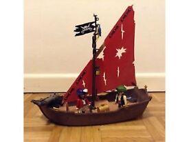 Playmobil Pirate boat