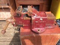 Vintage Record Steel Vice No 83