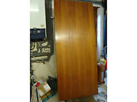 REALLY GOOD MAHOGANY? INTERNAL PLAIN DOOR NEVER USED... in very good condition