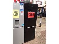 *NEW/GRADED* BLACK BEKO FRIDGE FREEZER