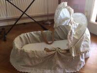Wicker Crib FREE TO LOVING HOME