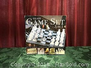 Glass Game Set 3 In 1