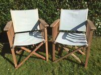 Garden Furniture Deck Chairs Director Style