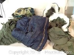 Lot Of US Army And Air Force Clothing