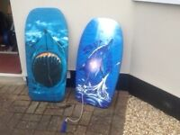 Body boards x 2