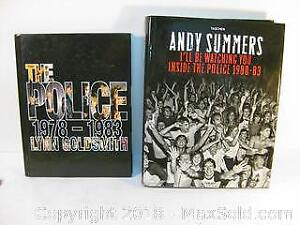 THE POLICE ~ music band coffee table books