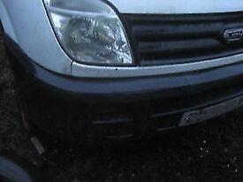 LDV maxus front bumper IN GATWICK area .