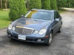 Diesel 2007 Mercedes-Benz E-Class 3.0L BLUETEC Sedan