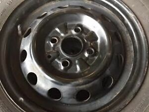 "Four Hyundai Accent 13"" Winter Rims"
