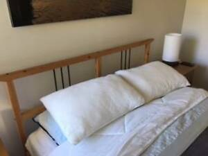 IKEA Slat Bed and Mattress Bayview Pittwater Area Preview