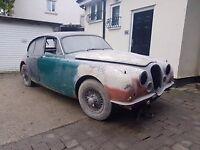 Jaguar Mark II Historic Vehicle - Restoration Project