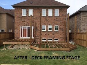 **DECKS ** FENCES ** GAZEBOS Peterborough Peterborough Area image 1