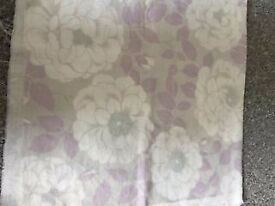 lilac New Laura Ashley Fabric Material - Floral Print - Shabby Chic - cushion - blind - curtain