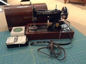 Singer 99 13 Antique sewing machine