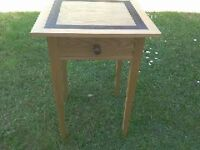 Handcrafted solid ash timber table