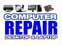 PC.Laptop and Electronic Repairs. Rapid speed service
