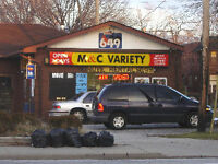 Former variety store for Lease
