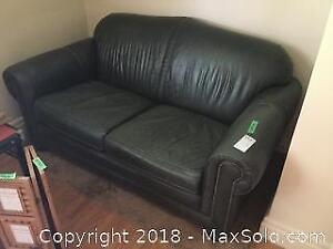 Leather Couch B