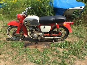 Barn Fresh 1963 150cc Honda Baby Dream