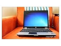 laptop wireless hp compaq 3 gb ram 160 harddrive wiped clean and reuse ready