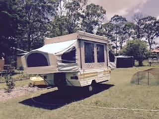 Jay finch campervan Meadowbrook Logan Area Preview