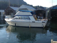 25% share in boat, boathouse and moorage