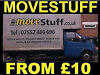 MOVESTUFF FROM £10 IN COVENTRY CHEAP MAN AND VAN HOUSE REMOVALS LUTON VAN WITH A TAIL LIFT Coventry