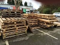 FREE WOODEN PALLETS LARGE AND SMALL