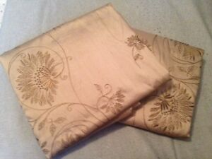 EUC Pottery Barn Dupioni Silk Drapes