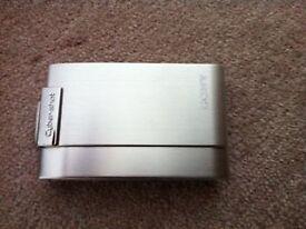 Silver Sony Cybershot DSC T200
