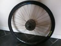 Ritchey rear wheel 9 speed for hybrid bike with disc brakes