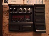 Zoom GFX-707 Guitar Effects Processor, original box, power lead.